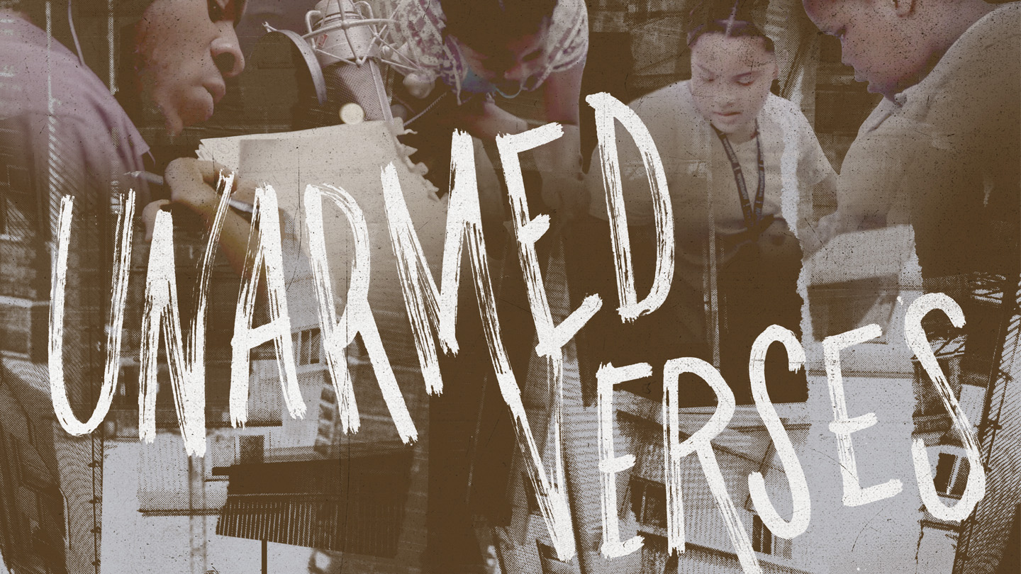 Unarmed Verses film header