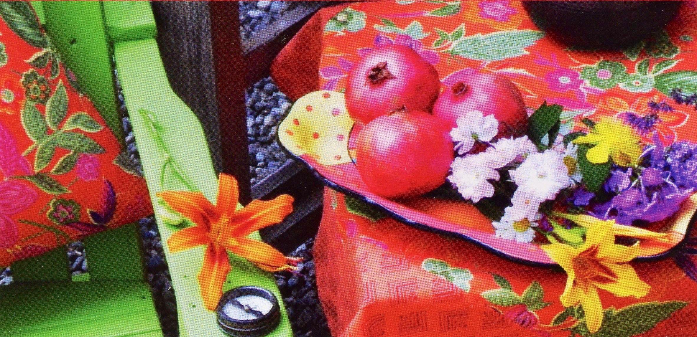 pomegranates book cover
