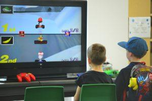 Video Game Kids Mariokart