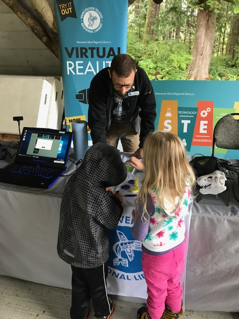 STEAM Roadshow and children