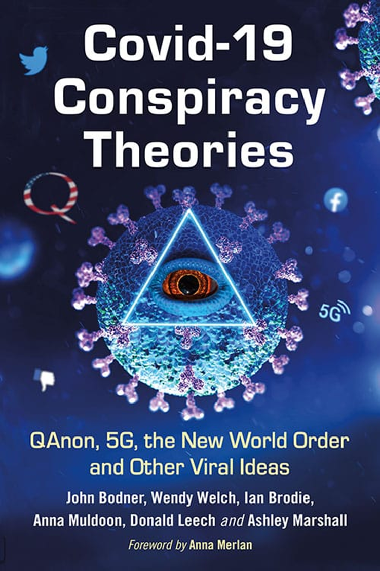 Book cover for Covid 19 Conspiracy Theories