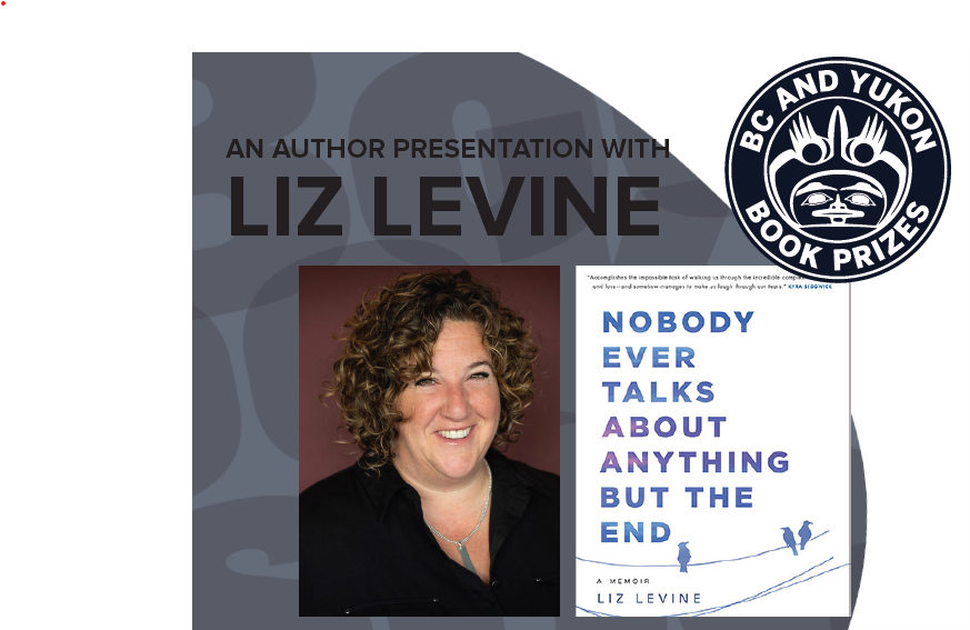 Photo of author liz levine and her new book